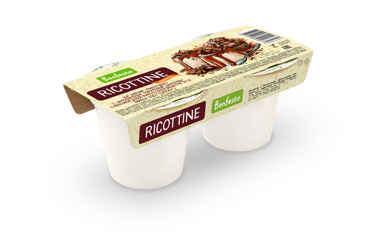 "Ricottine with the filler ""Milk chocolate"""