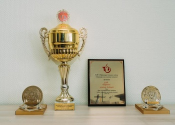 """Best milk processing company of the holding 'Gomel meat-and-dairy company' in 2015"""