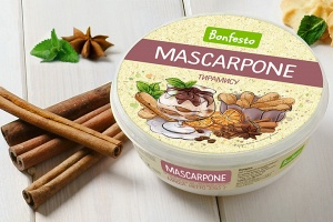"<span>Mascarpone</span><br> <span>with ""Tiramisu"" filler</span>"
