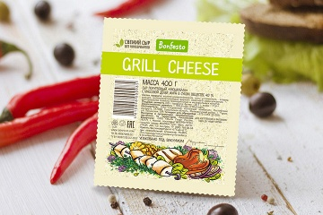 <span>Mozzarella</span><br> <span>Grill Cheese 400 g</span>